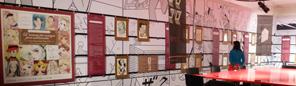 原画ダッシュ展示「少女マンガの世界展」@フランス、ポンピドゥーセンター